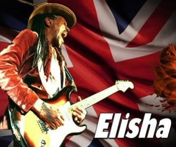 ELISHA BLUE (USA/UK) - blues v Klubu